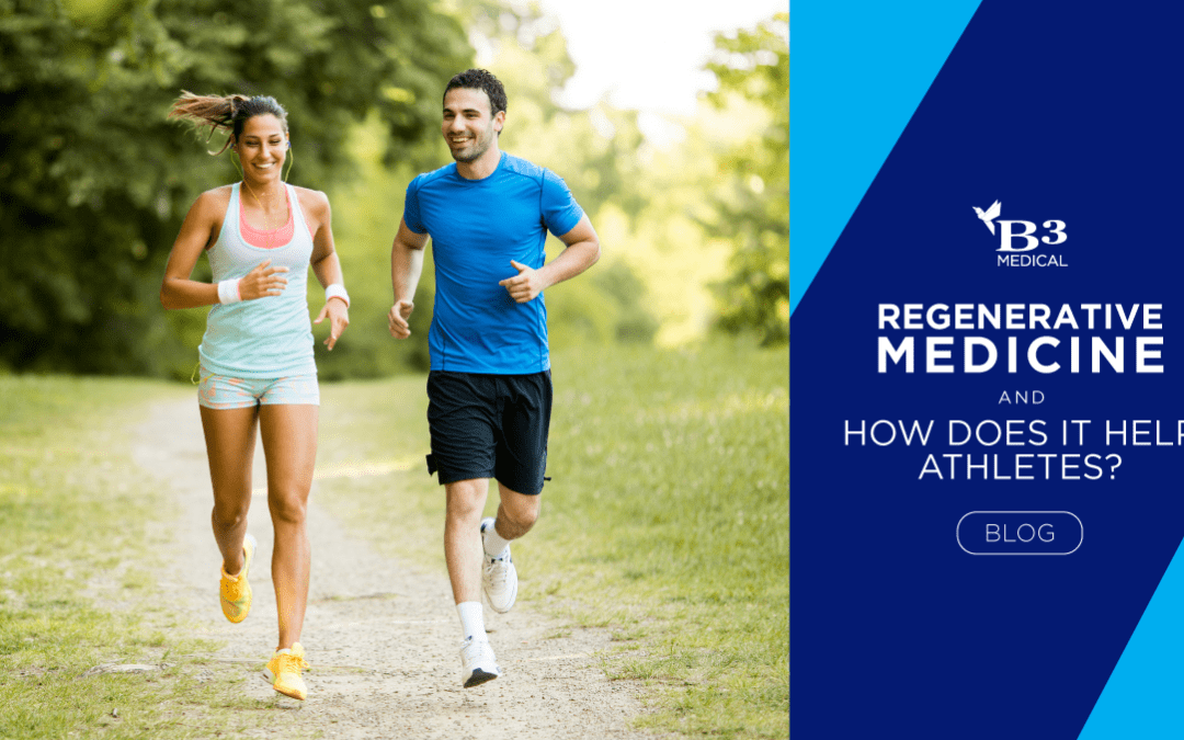 What is Regenerative Medicine, and How does it help Athletes?